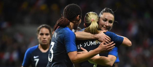Les Bleues favorites (photo FIFA.com)