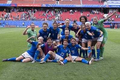L'Italie gagne 20 ans après son retour au Mondial (photo Eric Baledent/FOF)