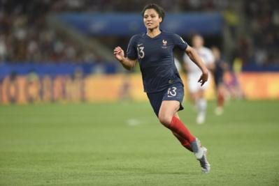 Valérie Gauvin, joueuse du match