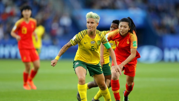 La capitaine van Wyk (photo FIFA.com)