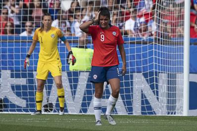 Les Chiliennes pourraient voir leurs espoirs s'envoler avant de jouer (photo Eric Baledent/FOF)