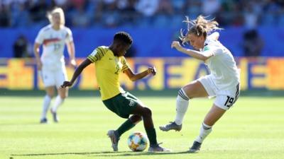 Les Africaines ont souffert en défense et sont éliminées (photo FIFA.com)