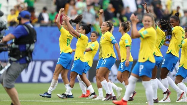 Les Brésiliennes ont gagné contre la Jamaïque et l'Italie lors du premier tour (photo FIFA.com)
