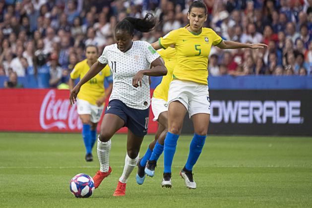 Kadidiatou Diani a été précieuse offensivement (photo Eric Baledent/FOF)