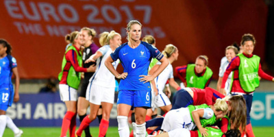 Henry incrédule devant les Anglaises (photo UEFA.com)