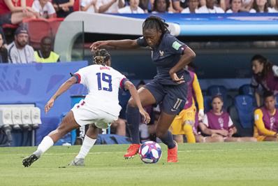 Diani a été la plus active tout au long du match (photo Eric Baledent/FOF)