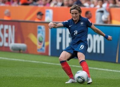 Sonia Bompastor ne fait pas partie de la liste finale des joueuses (photo LMP/EB)