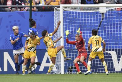L'Australie a déçu (photo Frédérique Grando/FOF)