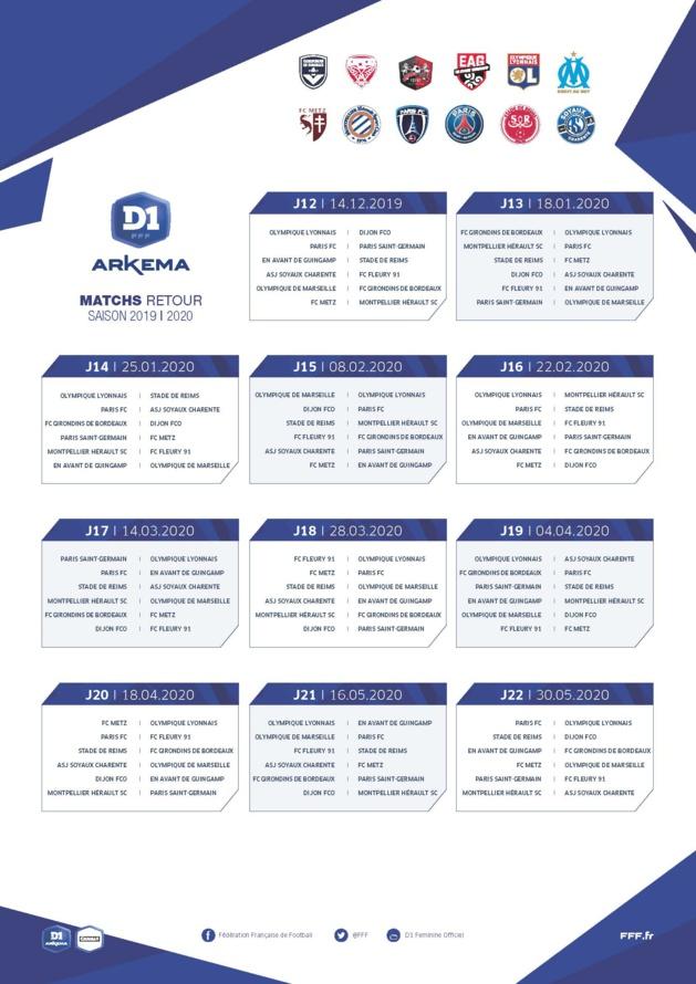 #D1 Arkema - Le calendrier des matchs est sorti