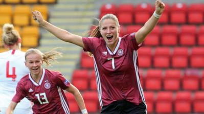 Les Allemandes remportent un premier match important
