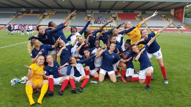 Les Bleuettes seront Ã* la Coupe du Monde et peuvent voir plus loin (photo Sandrine Ringler)