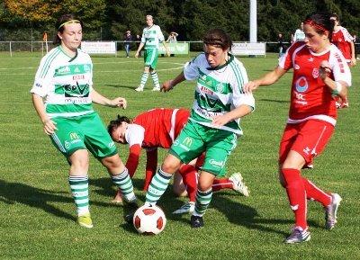 En octobre, l'ASSE s'est imposé 3-1 à Vendenheim (photo FCV)