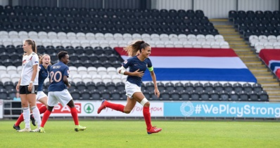 Lakrar a inscrit le but de la victoire sur corner (photo UEFA.com)