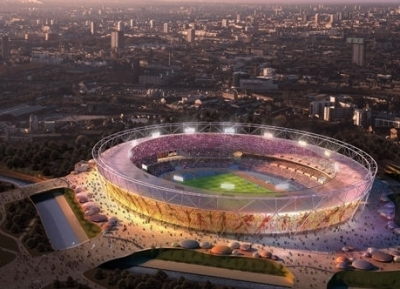 Le stade olympique de London 2012