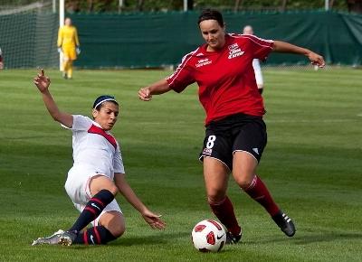 Audrey Février, joueuse clé à l'EAG (photo LMP)