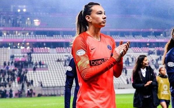 Christiane Endler devra patienter jusqu'à la 4e journée pour pouvoir prétendre jouer (photo PSG)