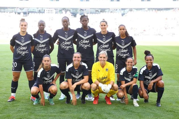 Les Bordelaises ont eu l'honneur de jouer un match de préparation au Matmut Atlantique le 4 août dernier (photo FCGB)