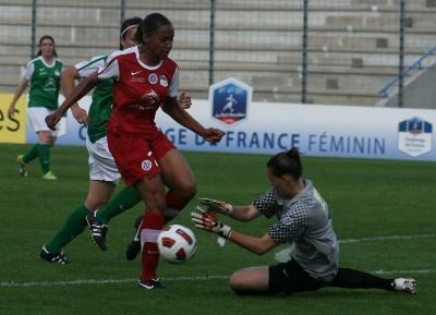 Méline Gerard en finale l'an dernier du Challenge de France (photo C Ringaud)