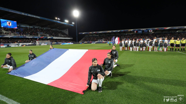 La France disputera trois matchs en mars sur son sol (photo AJA)