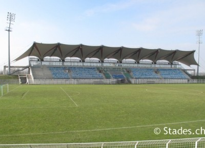 Le stade Jacques Rimbault de Bourges (photo : stades.ch)