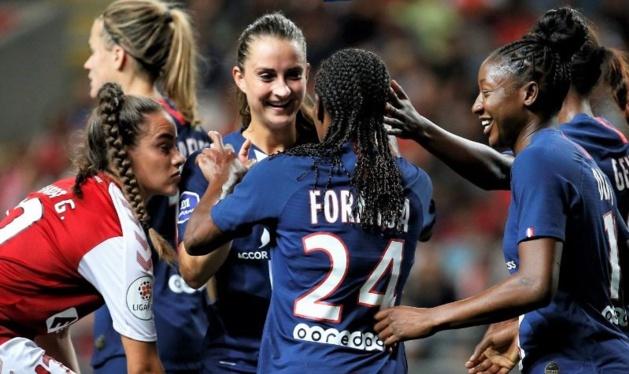 Däbritz, Formiga et Diani ont contribué Ã* ce succès (photo PSG.fr)