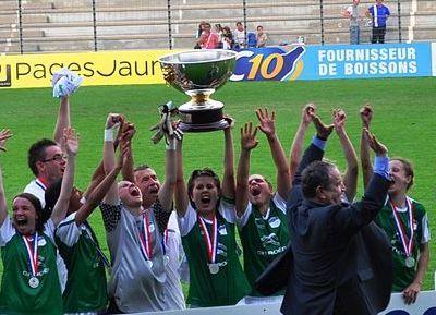 Saint-Etienne remet son titre en jeu au Puy (photo archive)