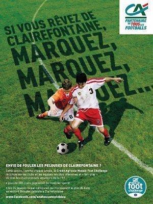 Mozaïc Foot Challenge - Marquez, Marquez et Marquez... Et gagnez votre billet pour Clairefontaine !