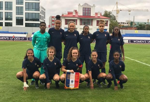 U17 - Les Françaises réussissent le sans-faute