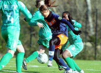 Utsugi a permis à Montpellier de prendre l'avantage (photo MHSC)