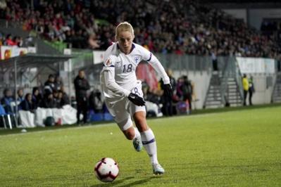 La joueuse du Paris FC Sällström a inscrit un quadruplé