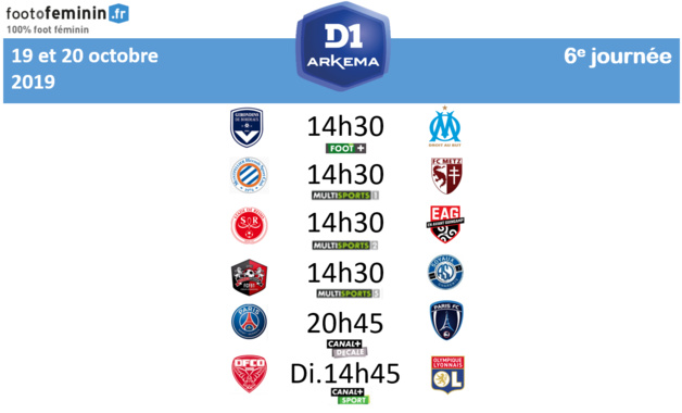 #D1Arkema - Le programme de la 6e journée