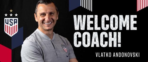 USA - Vlatko ANDONOVSKI, nouveau sélectionneur des Américaines
