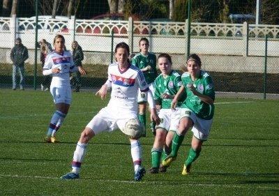Lotta Schelin a marqué mais a raté une ribambelle d'occasions (Photo : Thibault Simonnet)