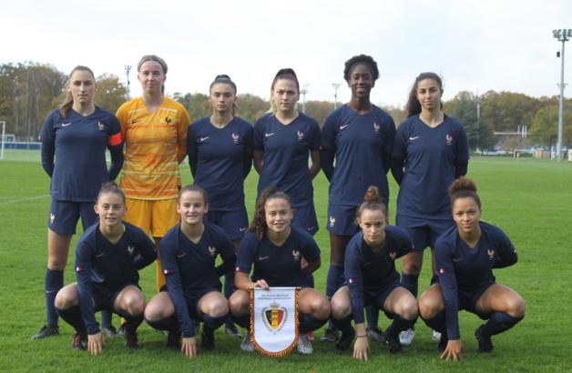 U19 - Défaite des Bleuettes face à la BELGIQUE
