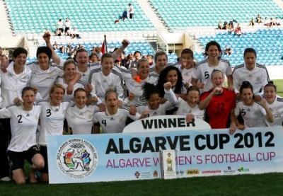 XIXe Algarve Cup - L'ALLEMAGNE s'impose dans un match de haute volée (4-3)