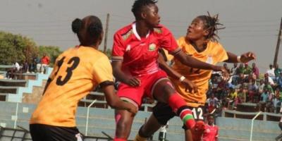Les Zambiennes en orange passent le 4e tour