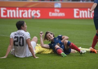 Malgré la défaite, la demi-finale contre les Etats-Unis restera son match le plus abouti (photo : Eric Baledent)