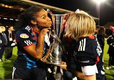 Sonia vise aussi une deuxième victoire d'affilée en Ligue des Champions (Photo : Vrouwenteam.be)