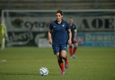 Le dernier but de Louisa Necib remontait au match contre le Mexique (Photo : Antonio Mesa - fff.fr)