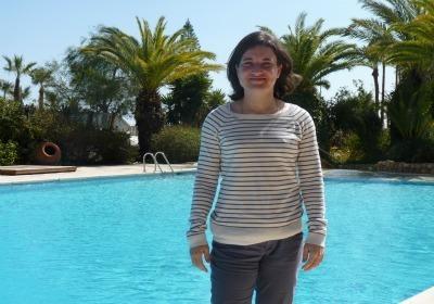 Sonia Haziraj avait déjà commenté pour une chaîne bretonne avant Direct8 (Photo : Thibault Simonnet)