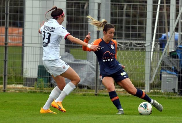 Le Bihan et Montpellier concèdent le nul devant Guingamp (photo MHSC)