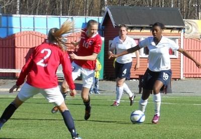 La défense tricolore ici avec Tounkara n'a pas encaissé le moindre but (photo CD)