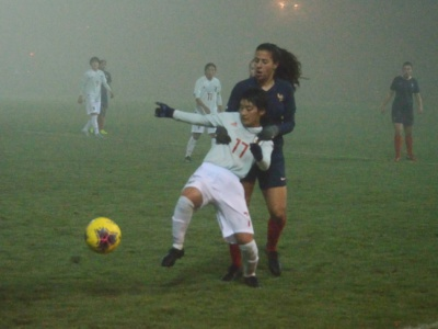Le brouillard a été intense en seconde période (photo LauraFoot)