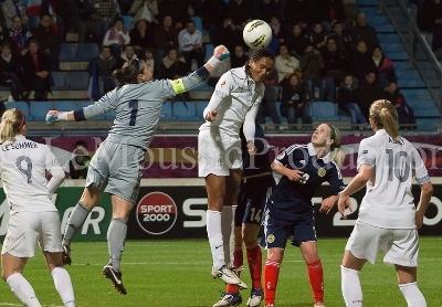 Renard de la tête a assuré la victoire des Bleues (photo E Baledent/LMP)