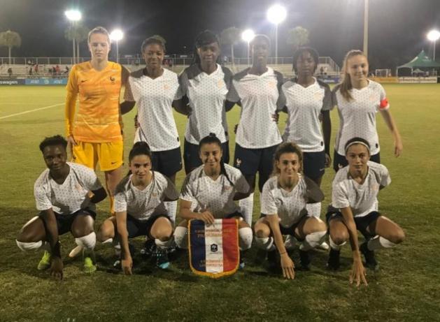 U20 - Les Bleuettes s'imposent face au Brésil