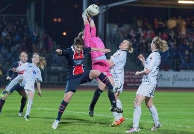 Juvisy ici avec Marion Mancion terminera la saison contre Lyon (photo LMP)