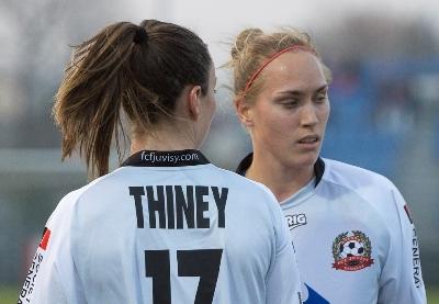 Thiney et Cayman retrouvent le club après une semaine en sélection (photo LMP/Eric Baledent)
