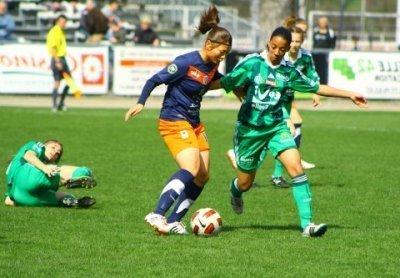 Après la lourde défaite contre Montpellier, Aude Moreau et les Vertes doivent réagir (photo Marie Lauria)