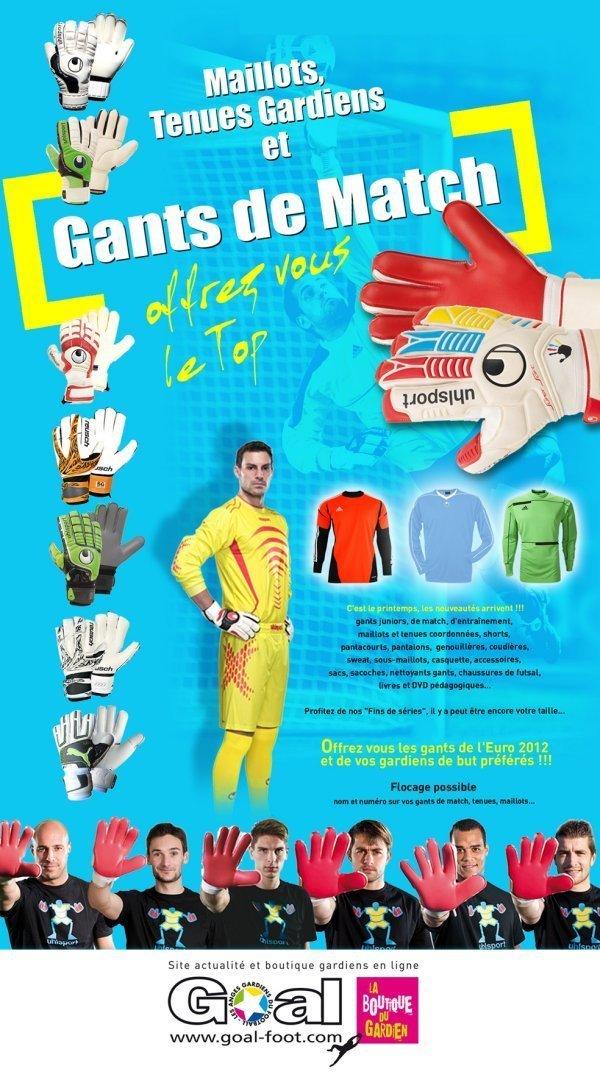 Equipements - Découvrez GOAL FOOT, la boutique en ligne des gardiennes de but...