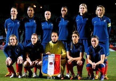 Demi-finalistes de la coupe du monde, les Bleues joueront une médaille cet été à Londres.